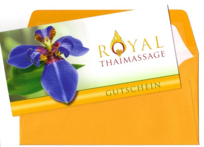 Massage Gutschein Royal Thaimassage Dresden
