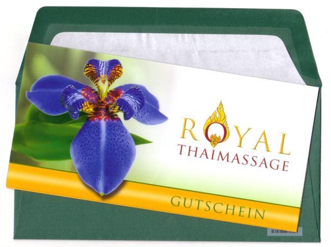 Massage Gutschein Dresden Royal Thaimassage Dresden