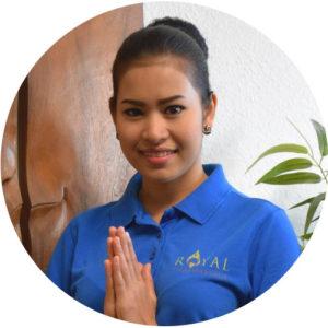 Daow - Mitarbeiterin in unserer Massagepraxis